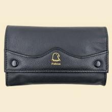 Falcon Lamb Skin Button Box Style Rolling Tobacco Pouch 590f
