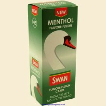 Swan Flavour Fusion Menthol Box of 25 Flavour Cards