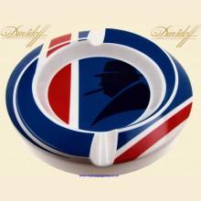 Davidoff Handcrafted Winston Churchill Union Jack Porcelain Cigar Ashtray 111783 349/350