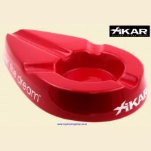 Xikar Livin' The Dream Ceramic Cigar Ashtray Red