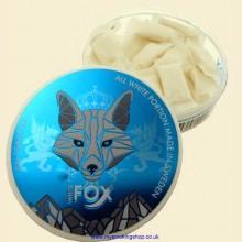 White Fox ALL WHITE ONE PAW Tobacco Free Smokeless Chew Bags Single 15g Pack