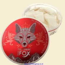 White Fox ALL WHITE FULL CHARGE SIX PAW Tobacco Free Smokeless Chew Bags Single 15g Pack