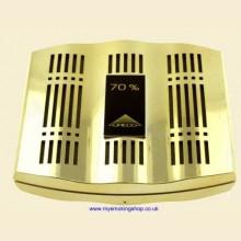 Credo Epsilon 80 Gold Cigar Humidor Humidifier Hydrator