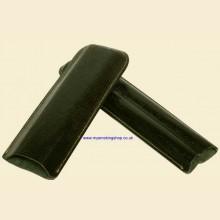 Mysmokingshop Telescopic Double Corona 2-finger Green Crocodile Print Leather Cigar Case
