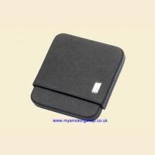 Dunhill Sidecar Sliding Black Leather Universal Cigarette Case pa9130