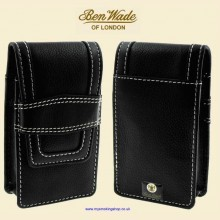 Ben Wade High Quality Black Leather Cigarette Packet Case bwc21