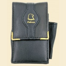 Falcon Leather Cigarette Packet Case with Lighter Pocket 697