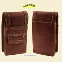 Hardcastle High Quality Vachetta Brown Leather Cigarette Packet Case hc21