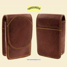 Hardcastle High Quality Vachetta Brown Leather Cigarette Packet Case hc96