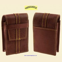 Hardcastle High Quality Vachetta Brown Leather Cigarette Packet Case hc97