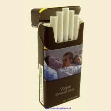 Vogue Slim COMPACT Blue Plus Filter 1 Pack of 20 Cigarettes Bleue