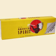 American Spirit YELLOW (Additive Free) 10 Packs of 20 Cigarettes