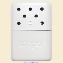 Zippo Deluxe 6 Hour Pearl White Matte Hand Warmer