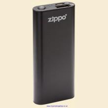 Zippo Heatbank 3 USB Rechargeable Black Hand Warmer and Power Bank