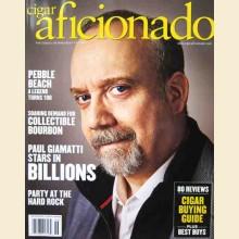Cigar Aficionado Magazine June 2019 - Paul Giamatti Cover