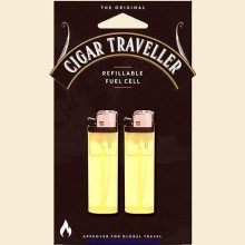 Cigar Traveller Refillable Replaceable Fuel Cells Pack of 2