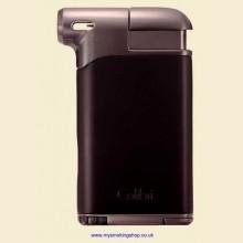 Colibri Pacific Air Black Gunmetal Pipe Lighter and Tamper