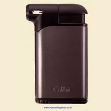 Colibri Pacific Air Gunmetal Black Pipe Lighter and Tamper