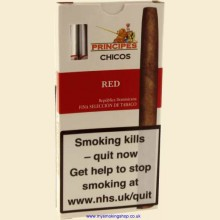 Principes Chicos Red Pack of 5 Flavoured Cigars