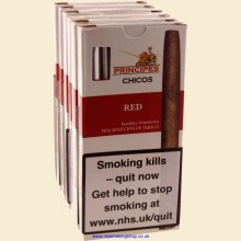 Principes Chicos Red 6 Packs of 5 Flavoured Cigars