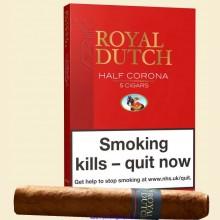 Ritmeester Royal Dutch Half Corona Pack of 5 Cigars