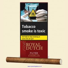 Ritmeester Royal Dutch Filter Pack of 5 Cigars