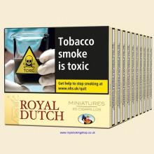 Ritmeester Royal Dutch Miniatures Yellow 10 Packs of 20 Cigars