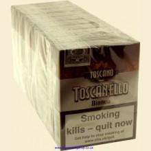 Toscano Toscanello Bianco 10 Packs of 5 Italian Cigars