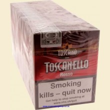 Toscano Toscanello Rosso 10 Packs of 5 Italian Cigars