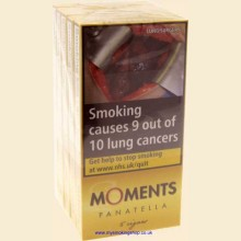 Willem II Moments Panatella 5 Packs of 5 Cigars