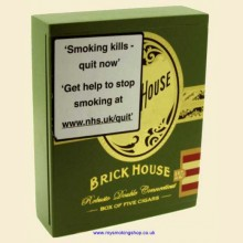 Brick House Robusto Double Connecticut Gift Box of 5 Nicaraguan Cigars
