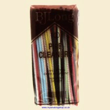 BJ Long 100 Coloured Straight Cotton Pipe Cleaners