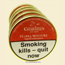 Charatan FC1863 Mixture Pipe Tobacco 5 x 50g Tins