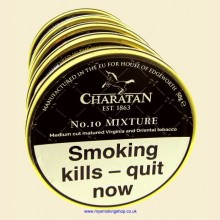 Charatan No.10 Mixture Pipe Tobacco 5 x 50g Tins