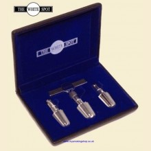 Dunhill White Spot Stainless Steel Professional Pipe Reamer Set PA4130