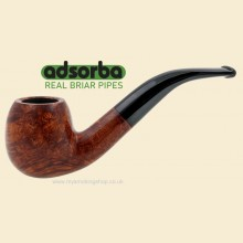 Adsorba Brown Matte 9mm Filter Bent Pipe A