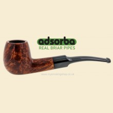 Adsorba Brown Matte 9mm Filter Curved Pipe G