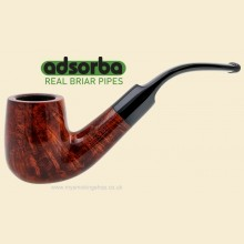 Adsorba Orange Lacquer 9mm Filter Bent Pipe D