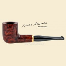 Aldo Morelli Fiorita Cherry 9mm Filter Smooth Straight Pipe 490