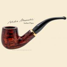 Aldo Morelli Fiorita Cherry 9mm Filter Smooth Bent Pipe 492