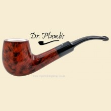 Dr Plumb Meerschaum Lined 9mm Filter Smooth Bent Pipe drpm01