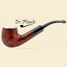 Dr Plumb Meerschaum Lined 9mm Filter Smooth Bent Pipe drpm02