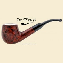 Dr Plumb Meerschaum Lined 9mm Filter Smooth Bent Pipe drpm04