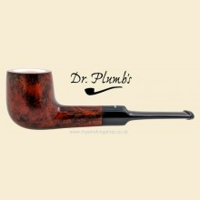 Dr Plumb Meerschaum Lined 9mm Filter Smooth Straight Pipe drpm10