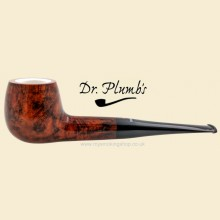 Dr Plumb Meerschaum Lined 9mm Filter Smooth Straight Pipe drpm11