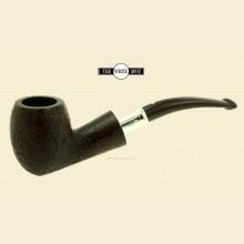 Dunhill Cumberland Group 4 Quaint Acorn Silver Spigot Bent Pipe 4qut13ss