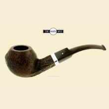 Dunhill Cumberland Group 5 Silver Band Rhodesian Bent Pipe 5208sb