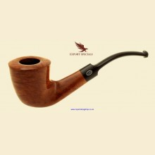 Export Special GBD London Made Smooth Bent Briar Dublin Pipe c