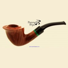 Paronelli Clairmont Creative 2015 Smooth Real Briar Bent Freehand Pipe d