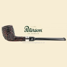 Peterson Belgique Rustic Nickel Mounted Straight Pipe